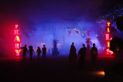 Feary Tales (Fire At Will [Photography]) Tags: fire will photography fw photo kings dominion virginia va theme amusement park 2015 night halloween haunt feary tales lights color attraction