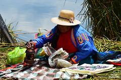 """mamita"" (ESQUIZOFRENIA ART ©) Tags: perú cholita puno mujer colores"