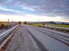 . (its_anjali) Tags: road strada infinity sky cielo nuvole clouds sunset tramonto photoshop express
