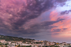 Thunderstorm approach (joaomartins_77) Tags: thunderstorms end day portalegre city alentejo fuji xt1 18135mm