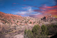 Verde Canyon, AZ 21 (Largeguy1) Tags: approved verdecanyon az sunset landscape clouds mountains canon 5d mark ii