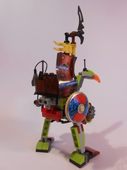 Waste Strider (TheHunBear) Tags: toy toys lego moc mech mecha space scifi postapoc walker strider