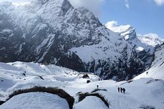 Annapurna Mountain range (munjean) Tags: annapurnabasecamp annapurna nepal trekking trek snow mountain mountains hiking