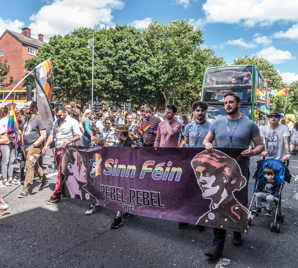 LGBTQ+ PRIDE PARADE 2017 [ON THE WAY FROM STEPHENS GREEN TO SMITHFIELD]-130126
