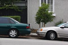 Father and Son (Jason Wollenweber) Tags: ford taurus sho sedan car vehicle 1994