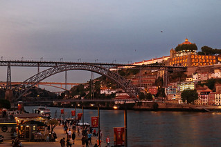 Heure bleue à Porto // Blue hour in Porto