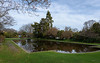 Early Spring (Jocey K) Tags: southisland newzealand nikond750 christchurch monavale pond trees reflections gardens sky