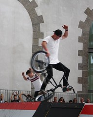 Riding Indoor Show Brest 2017 (EricFromPlab) Tags: bretagne finistère brest capucins breizh brittany freestyle rider jump bmx flat