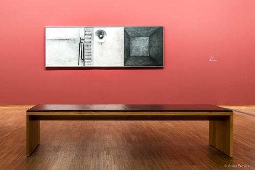 Eduard Angeli: Der Besuch / The Visit, 1998