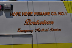 Bordentown Fire Department Hope Hose Humane Co. No.1 EMS Ambulance 6092 (Triborough) Tags: nj newjersey burlingtoncounty bordentown bfd bordentownfiredepartment hhh hhgc1 hopehosehumanecompanyno1 ems firetruck fireengine ambulance ambulance6092 dodge ram