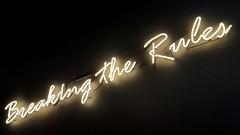 Breaking the Rules (Arranion) Tags: neon lights dark night mobile words break rules breaktherules samsung