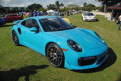 Porsche 911 Turbo S (Infinity & Beyond Photography) Tags: porsche 911 turbo s blue exotic sports car