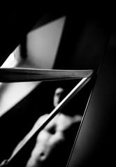 Sword & Mirror (Armin Fuchs) Tags: arminfuchs mirror sword bokken window man light aikido martialart