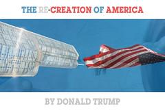 The Re-Creation of America (By Donald Trump) (Tilius - Silvio Lucchini) Tags: creation usa adam trump power america michelangelo skyscraper flag chicago donald creativity vision sky stripes blue hands