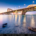 United Arab Emirates - UAE - Abu Dhabi - Sheikh Zayed Bridge at Dusk - Twilight - Blue Hour