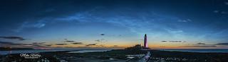Noctilucent clouds ....