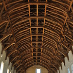 Plafond, The Great Hall (XVe), château royal, Stirling, Stirling and Falkirk, Ecosse, Royaume-Uni. thumbnail
