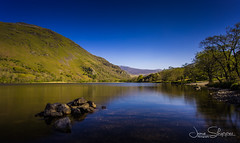 Cool Summer Lake (JDS-photo) Tags: northwales snowdonia snowdonianationalpark lake water mountains trees rocks landscapephotography landscape lightroom canoneos6d canonef1740mmf4lusm