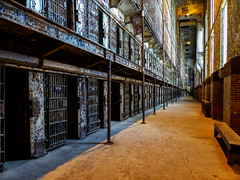 The East Cell Block Of The Ohio State Reformatory (J Wells S) Tags: ohiostatereformatory prison cells decay rust mansfieldreformatory osr jail jailcells mansfield ohio theshawshankredemption cellblock inexplore explore