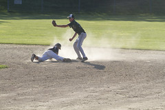 Stealing Second (brucetopher) Tags: orleans orleans308 american legion americanlegion americanlegionbaseball baseball ballplayer baseballplayer ballfield baseballdiamond baseballfield diamond bigdiamond youth sports sport kidssports youthsport highschool athlete athletes athletic ball field park ballpark player play passtime pasttime game contest summer