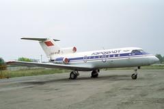 CCCP-87487 Yakovlev Yak-40 Aeroflot (pslg05896) Tags: bka uubb moscow bykovo cccp87487 yakovlev yak40 aeroflot