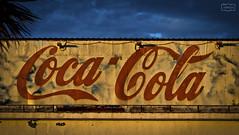 Icono/ Icon (Jose Antonio. 62) Tags: coke blue azul amarillo yellow logo logotipo tipografía typography
