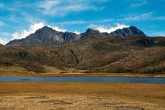 Pour toi (LynxDaemon) Tags: uploadedviaflickrqcom cotopaxi ecuador mountains snow bluesky clouds red bare plains lac water