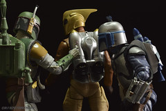 Is that... Gum? (Rezso Kempny) Tags: funko toys rocketter cliff secord backpack rocket gum hasbro black series star wars 6 inch inches boba fett jango bounty hunters unexpected inspection helmet