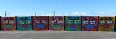 Graffs déco au Bd Paul Leferme à St-Nazaire (CorcuffR) Tags: graff tag déco st saint nazaire paul leferme bd boulevard mur laid