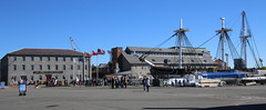 USS Constitution and Museum (emmaellathomas) Tags: bostonmassachusetts museum frigate