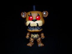 Nightmare Freddy (ridureyu1) Tags: nightmarefreddy fivenightsatfreddys fivenightsatfreddys4 funko pop funkopop bobblehead mysterymini toy toys actionfigure toyphotography sonycybershotsonycybershotdscw690