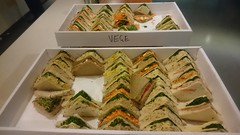 Sandwiches in level 2 kitchen (avlxyz) Tags: vegetarian leftovers meeting