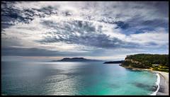 Maria Island (niggyl (well behind)) Tags: mariaisland orford triabunna stapletonsbeach tasmania tasmansea mercurypassage nikond600 nikkor173528afd nikkor173528d cloudsstormssunsetssunrises