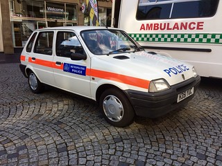 Mini Metro Police Car, Sheffield 2017