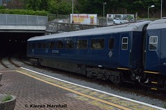 "87103 ""Kildare"" at Cork, 10/6/17 (hurricanemk1c) Tags: railways railway train trains irish rail irishrail iarnród éireann iarnródéireann 2017 belmond grandhibernian luxurytrain brel britishrailengineeringltd mark3 87103 kildare cork 7104"