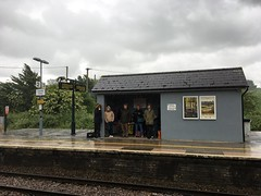 Photo of Enjoying the English summer at Castle Cary station (Somerset), waiting for the train back up to London.