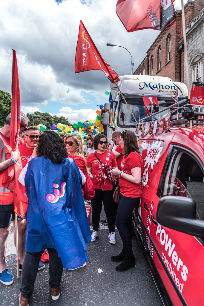 LGBTQ+ PRIDE PARADE 2017 [STEPHENS GREEN BEFORE THE ACTUAL PARADE]-129802