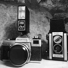 image (mcmilland62) Tags: praktica duaflex2 kodak 620film 35mmfilm carl zeiss 50mm lens iphone5s