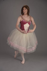 First position arms (Jamie Gibson CD) Tags: ballerina ballet transgender crossdresser pinktutu