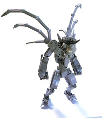 Gregory the Gray Grinning Gargoyle (~Likus~) Tags: bionicle lego hero factory mecha gargoyle medieval