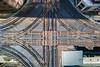 Criss Cross (jeff_a_goldberg) Tags: aerialphotography summer drone cta dji mavic outofchicago chicago l elevatedtrain train trainstation djimavicpro mavicpro traintracks