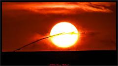 Attempt to delete (Peter Daum 69) Tags: feuer fire farbe color sunset scenery landschaft landscape natur nature sonne sun löschen bewässerung wasser water aqua licht light romantik moods mystery canon eos dream sunrise sonnenaufgang