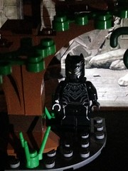 Black Panther (David$19) Tags: lego legomarvel legomarvelsuperheroes blackpanther tchalla wakanda
