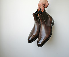 Santoni Chelsea #BurzanHands (avm_photo) Tags: santoni chelsea boots