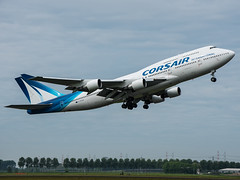 F-HSEA (wittowio) Tags: airliner spotting charter ajax boeing 747 744 ams
