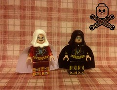 New 52 Shazam and Black Adam (captaincustom/collector) Tags: lego dc new 52 shazam black adam