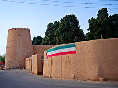 Bagh-e Fin (Fin Garden) - walls and towers, Kashan, Iran (CamelKW) Tags: 2017 iran isfahan kashan baghefin fingarden wall tower