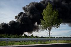 Black is a new black (MarxschisM) Tags: sloka latvia fire smoke black harm poison