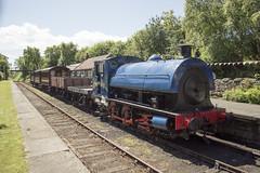 No. 21 Linda (MitchellTurnbull) Tags: hawthorn leslie 21 3931 1938 linda ribble steam railway tanfield andrews house legends industry gala locomotive 17th june 2017