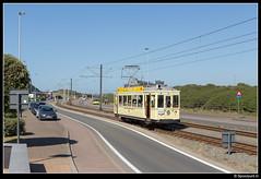 TTO 9942 - Westende Belle Vue (Spoorpunt.nl) Tags: 10 juni 2017 visweekend westende toeristische tram des tijds tto noordzee standaard motorwagen 9942 belle vue